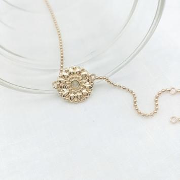 bijou tendance bohème plaqué or bracelet bille médaille soleil pierre gemme semi précieuse pierre de lune verre