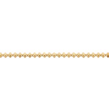 bijoux tendance bracelet barre intemporel plaqué or