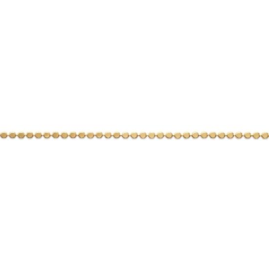 bijoux tendance bracelet perles carrées intemporel plaqué or