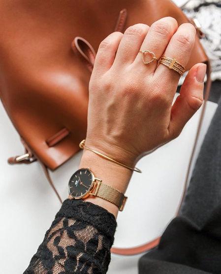 bijoux bague coeur fait main or instagram mgch manon