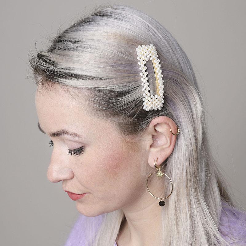 sortie en vente divers styles enfant Barrette perles PHILOMÈNE