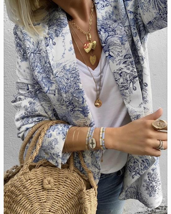 bijoux créateur tendance bohème 7 bracelet fin jonc semainier destroy déformé plaqué or instagram trendy emma