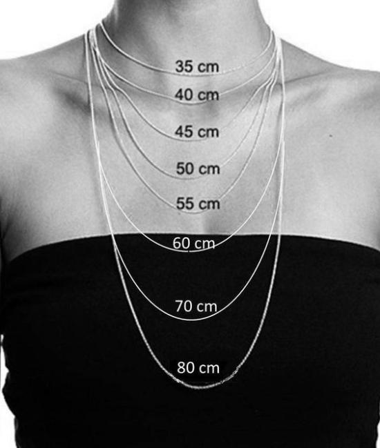longueur collier chaîne
