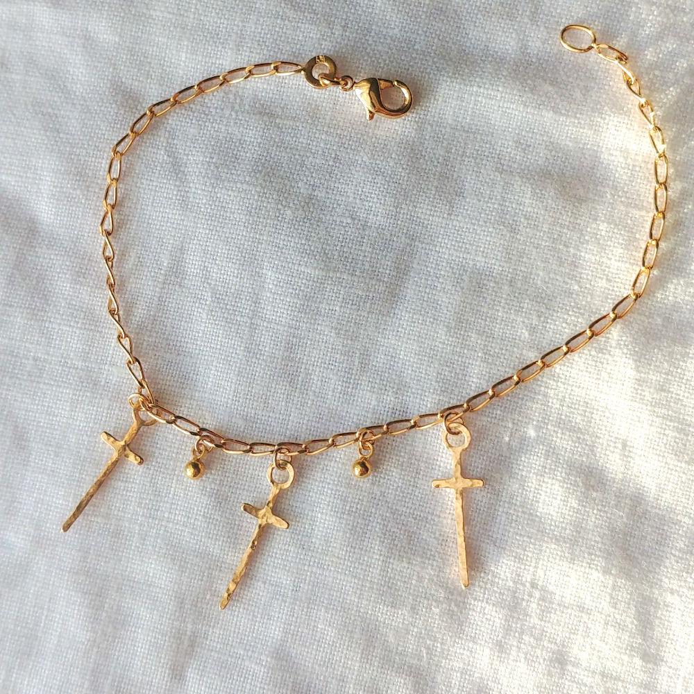 14 cm environ r/églable Bracelet pr/énom MANON