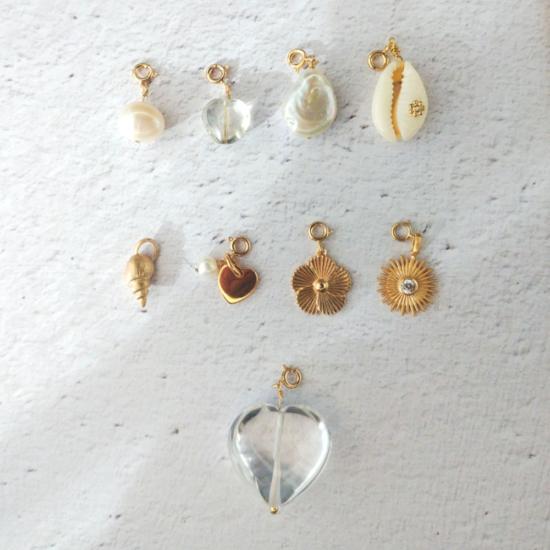 pendentifs charm's à accrocher et à personnaliser bijoux créateur français
