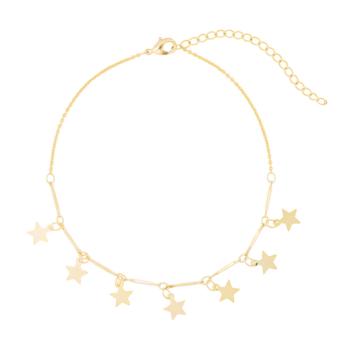 bracelet de cheville étoiles