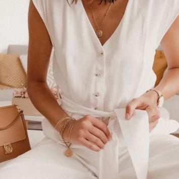 bijoux créateur tendance 7 bracelets joncs semainier destroy plaqué or fait main instagram @mgch_