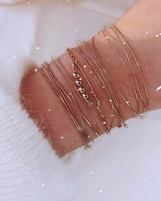 bracelets joncs semainier destroy bracelet épingle à nourrice punk chic or gold filled bijoux tendance fait main france créateur
