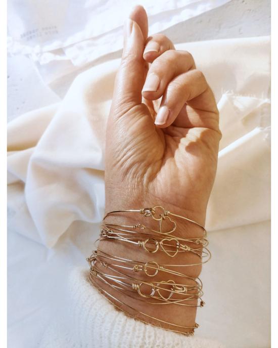 bracelets joncs semainiers fait main fil gold filled bijoux createur france
