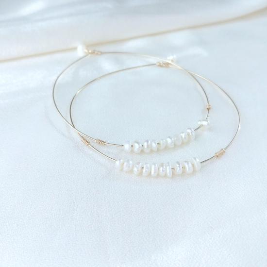 7 bracelets joncs semainier perles destroy argent 925 ou or fait main bijoux créateur tendance