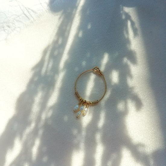 bague perles fine bohème fait main France créatrice bijoux